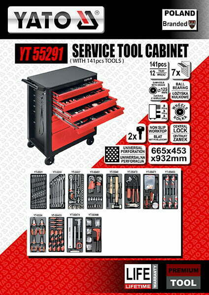 Service Tool Cabinet