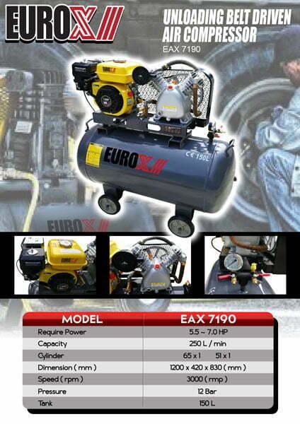 EUROX EAX 7190 Air Compressor-web